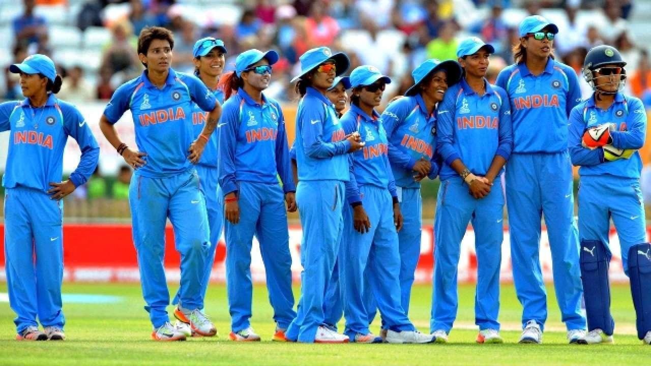 Indian women v South Africa women teams in fifth ODI