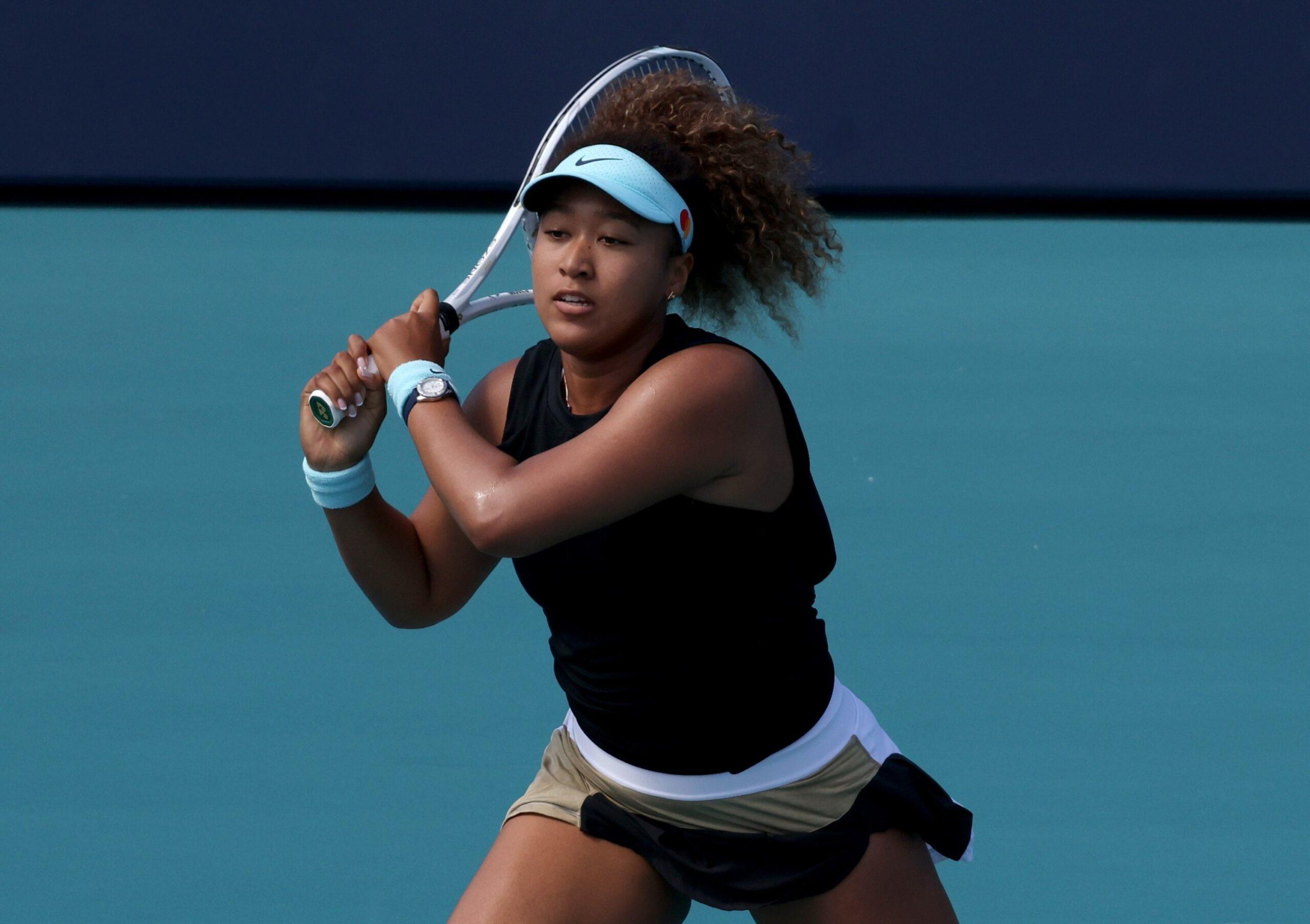 Naomi Osaka of Japan in quarterfinals of Miami Open