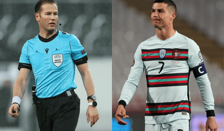 Referee apologizes to Ronaldo and Portugal for disallowed goal