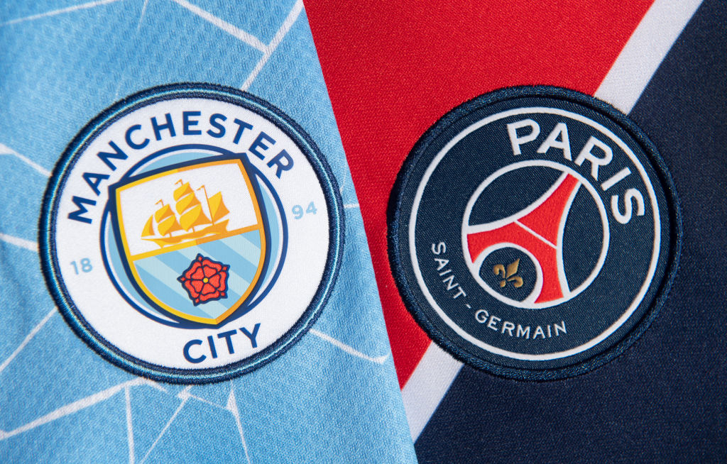 Champions League: Man City Predicted Line-up v PSG