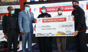 Toyota Kenya injects $281,188 towards WRC Safari Rally event
