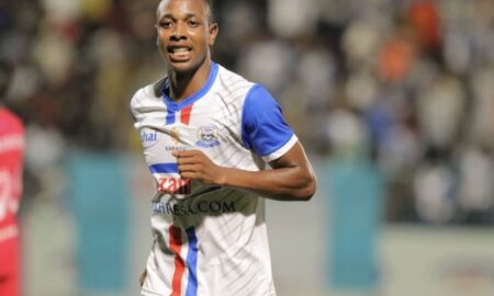 Azam FC striker Prince Dube grabs May Player of the Month Award