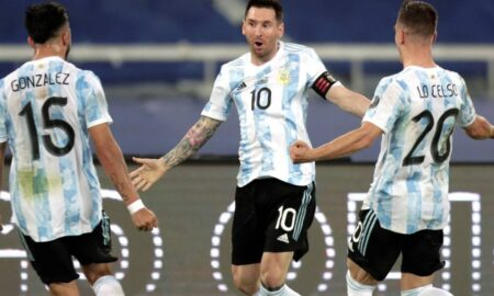Copa America - Lionel Messi scores as Argentina draws 1-all with Chile
