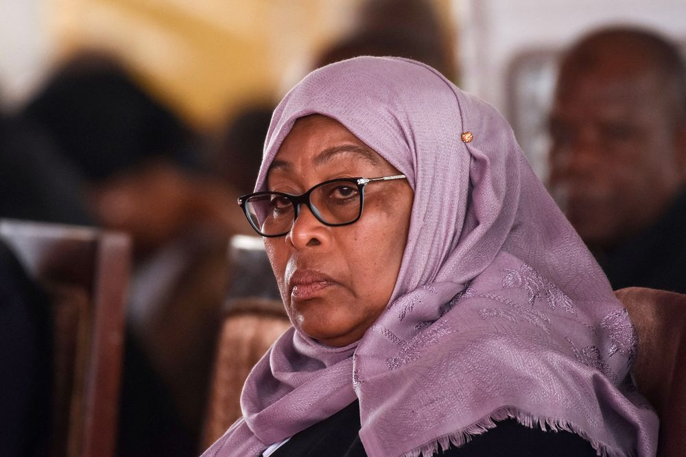 President Samia Suluhu calls out CCM on state of stadiums in Tanzania