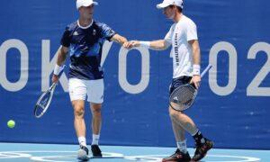 Andy Murray and Joe Salisbury lost men's doubles quarter-finals