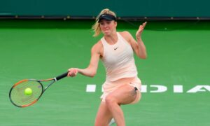 Elina outshines Sakkari and reached to Quarterfinals