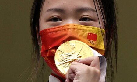 Yang Qian Claims The First Olympic Gold