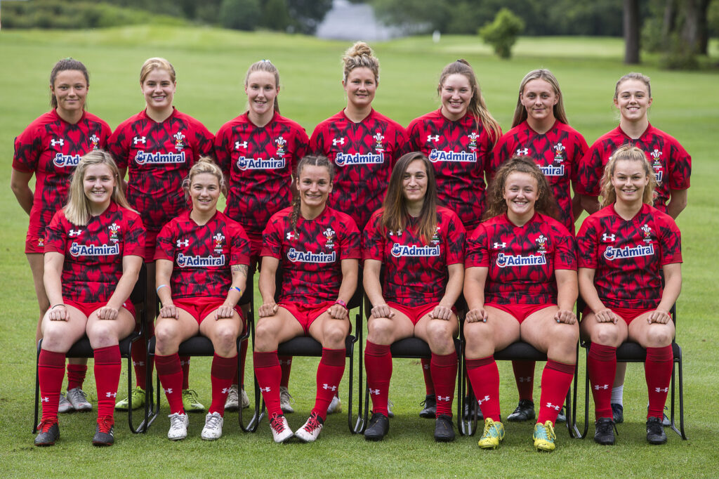 Wales-Women Rugby Europe squad