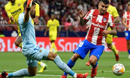 Atletico Madrid first home defeat