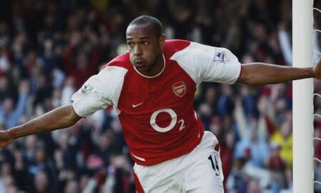 Arsenal legend Thierry Henry