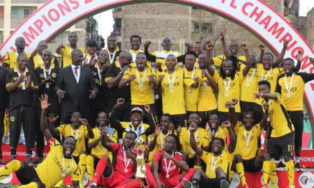 Tusker FC tops Kenyan Premier League title