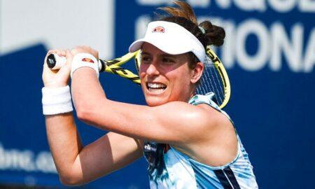 Muchova won first round of Cincinnati Open