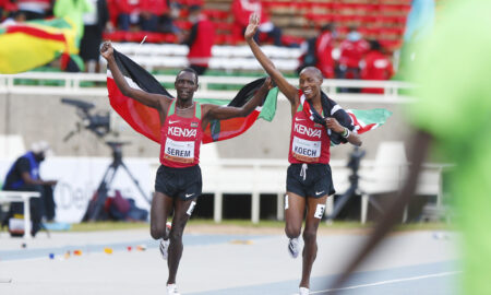 Kenya finished top at World U20 Champs