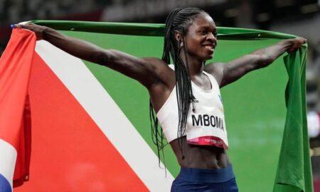 Namibia Sprinter Christine Mboma