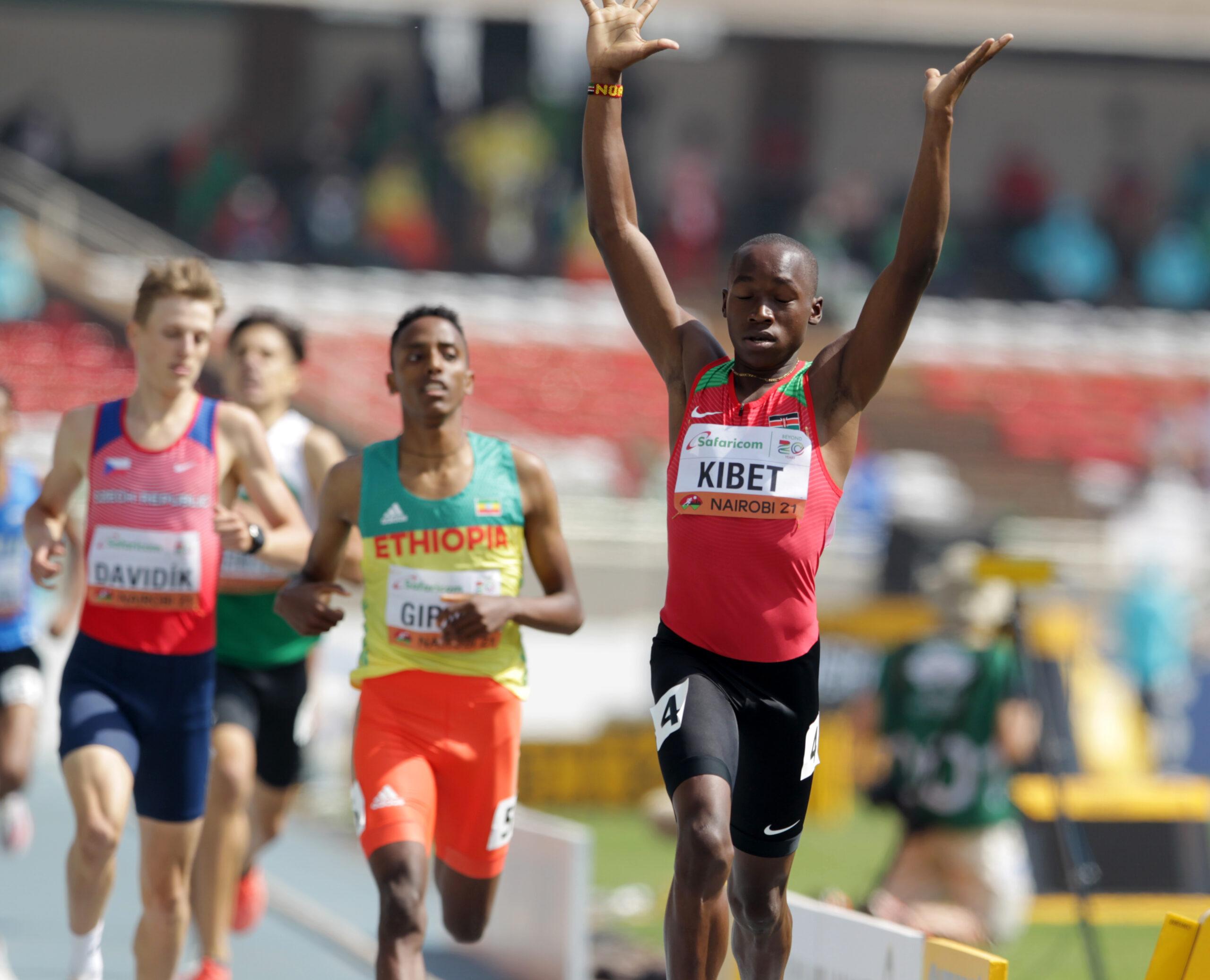 Kenya's 800m duo into the semi finals