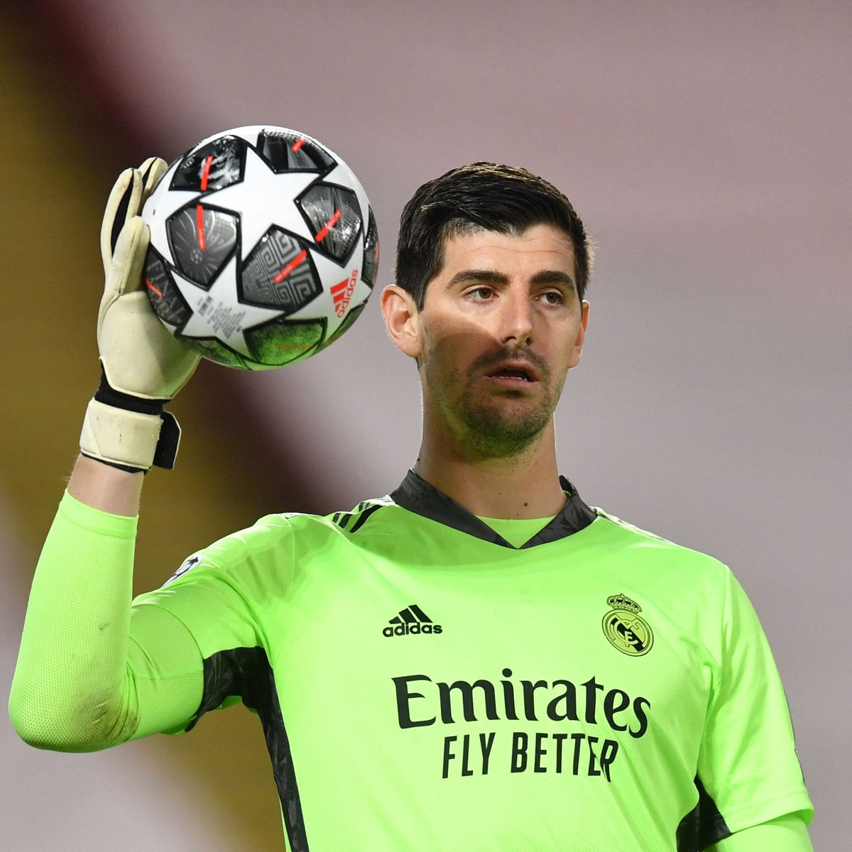 Courtois new five-year contract with Real Madrid