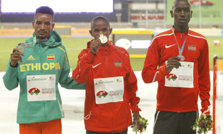 Kenya won gold on second day