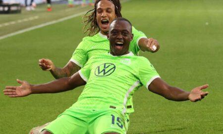 VfL Wolfsburg on top table