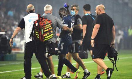 Bordeaux Striker Collapses