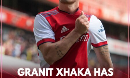 Granit Xhaka Extends Contract with Arsenal
