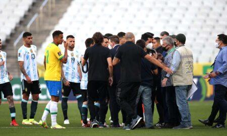 Brazil-Argentina suspended tie
