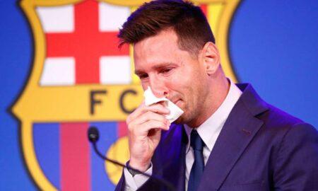 Lionel Messi shock departure