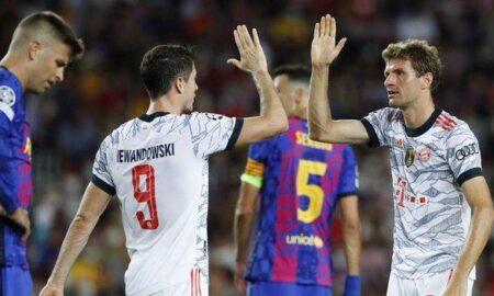 Bayern Munich defeat Barcelona