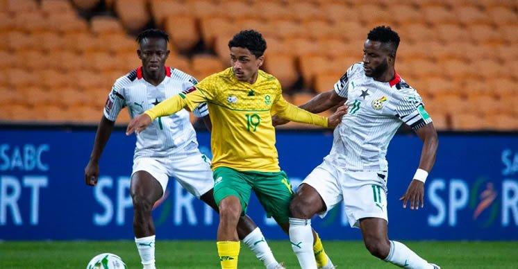 South africa stun Ghana