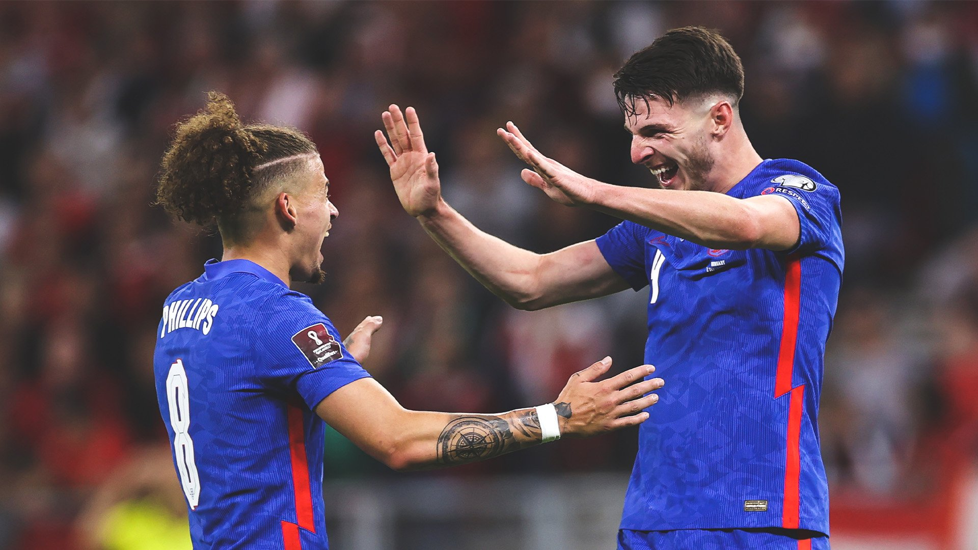 Declan Rice and Kalvin Phillips