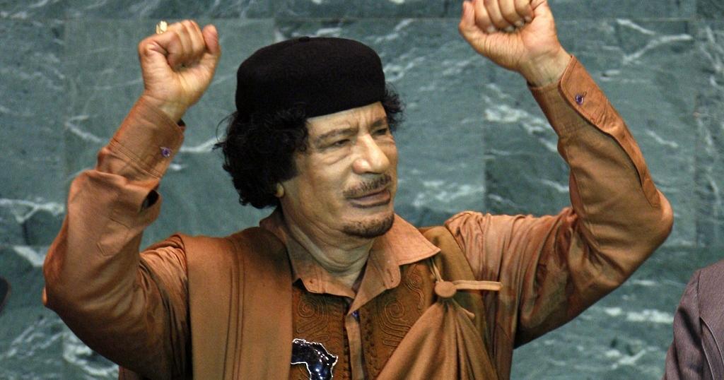 Muammar Gadaffi buying Manchester United.